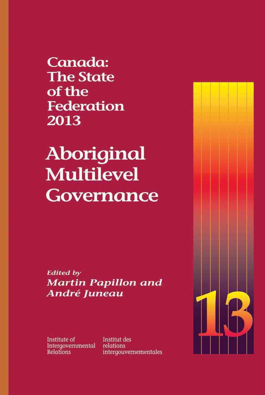 eBook - Canada: The State of the Federation, 2013
